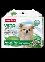 Beaphar Био капли Vetopure от паразитов для собак мелких пород 3 пипетки (15612)