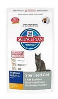 Hills Sterilised Cat Mature Adult 7+ корм для кастрированных котов и кошек 3,5кг (9356)