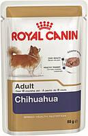 Royal Canin Chihuahua (паштет) 85г*12шт-консервированный корм для взрослых собак
