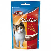 Trixie TX-4265 Stickies 12шт- палочки  для кошек с курицей
