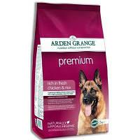 Arden Grange Adult Premium 12кг-корм для взрослых активных собак