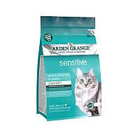 Arden Grange Sensitive Ocean fish and potato 8кг-беззерновой корм для кошек с деликатным желудком