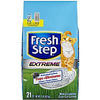 Впитывающий наполнитель Fresh Step EXTREME Clay Cat Litter  9,52кг (02031)