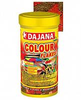 Dajana Color Flakes 15кг - хлопьеобразный корм для яркого цвета рыбок