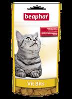 Beaphar Vit Bits 35г-подушечки з мультивітамінної пастою для кішок (12625)