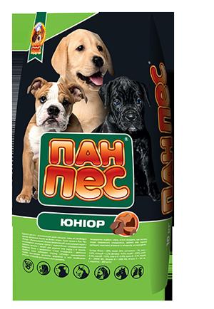Пан-Пес Юниор 10кг-корм для щенков всех пород