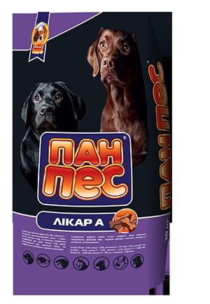 Пан-Пес Доктор-А 10кг для собак старше 7лет*2 шт (20кг) + бесплатная доставка по всей Украине !