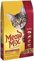 Meow Mix Cat Hairball Control  6,44кг -корм для кошек с формулой выведения шерсти