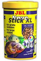 JBL Novo Stick XL 5,5 L корм в форме палочек для крупных плотоядных рыб (3028200)