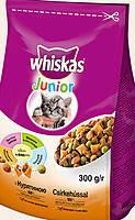 Whiskas Junior подушечки с кремовой начинкой для котят (с курицей) 14кг
