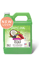 """Tropiclean  Berry & Coconut Pet Shampoo - шампунь   """"Ягодный с кокосом""""  для собак и котов 3,8л (060104)"""