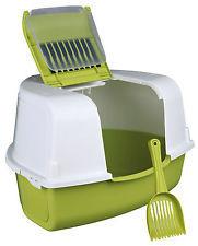 Trixie TX-40358 Угловой туалет Тадео с фильтром и лопаткой