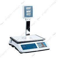 Весы электронные(торговые) 50кг 818d с метал. стойкой большая площадка