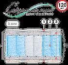 Матрас ортопедический на блоке Pocket Spring пятизональный Аврора Велам 80x190 см, фото 2