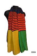 Шарф Соня желто-зеленый, фото 1