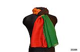 Шарф Соня красно-зеленый, фото 2