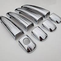 Peugeot 3008 2010-15 хромовые накладки на дверные ручки Новые
