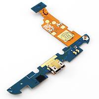 Шлейф (Flat cable) LG E960 Google Nexus 4 с разъемом зарядки,  микрофоном,  компонентами