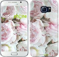 "Чехол на Samsung Galaxy S6 G920 Пионы v2 ""2706c-80"""
