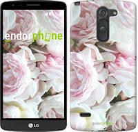 "Чехол на LG G3 Stylus D690 Пионы v2 ""2706c-89"""