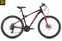 """Велосипед Spelli SX-3200 29""""  черно-красный"""