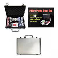 Набор для покера, чемодан 200 фишек (арт.2007В)