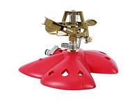 """Дождеватель """"Intertool"""" пульсирующий METAL на базе дальность разбрызгивания до 12 м арт. GE-0074"""