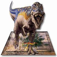 Детские настенные часы Динозавр 30*31 см, часы для детской