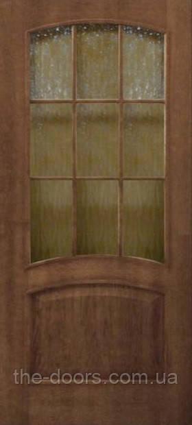 """Двери Капри стекло кора бронза шпон натуральный - Интернет-магазин """"the-doors"""" в Киеве"""