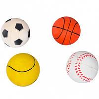 Мяч резиновый 6 см (арт.MS6)