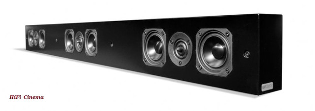 Artcoustic SL Multi Soundbar 1087 (S) - Настенный саундбар