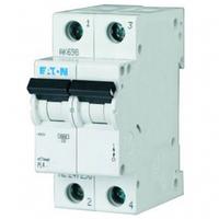 Автоматический выключатель 16A 4,5кА 2 полюса тип C PL4-C16/2 Eaton (Moeller)