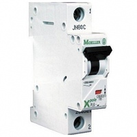 Автоматический выключатель 25A 4,5кА 1 полюс тип B PL4-B25/1 Eaton (Moeller)