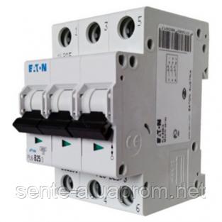Автоматический выключатель 25A 4,5кА 3 полюса тип B PL4-B25/3 Eaton (Moeller)