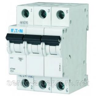 Автоматический выключатель 32A 4,5кА 3 полюса тип C PL4-C32/3 Eaton (Moeller)