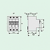 Автоматический выключатель 6A 6кА 3 полюса тип C PL6-C6/3 Eaton (Moeller), фото 2