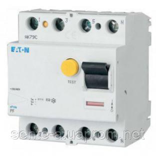 УЗО 63A 500мА тип AC 4 полюса PF6-63/4/05 Eaton (Moeller)