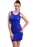 Женское платье Синее р.42,44