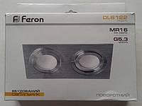 Встраиваемый светильник Feron DL6122 (цвет корпуса серебро)