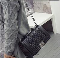 Сумка-клатч Шанель бой, Chanel boy  Копия с доставкой по Украине новой и Укрпочтой