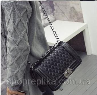 Сумка-клатч Шанель бой, Chanеel boy Копия с доставкой по Украине новой и  Укрпочтой a9a9c580d36