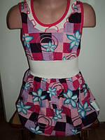 Летнее детское платье, на рост 110 - 116 см.