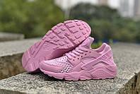 """Женские кроссовки Nike Huarache """"All Pink"""", фото 1"""