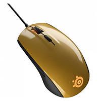 Игровая мышь SteelSeries Rival 100 Alchemy Gold (62336)