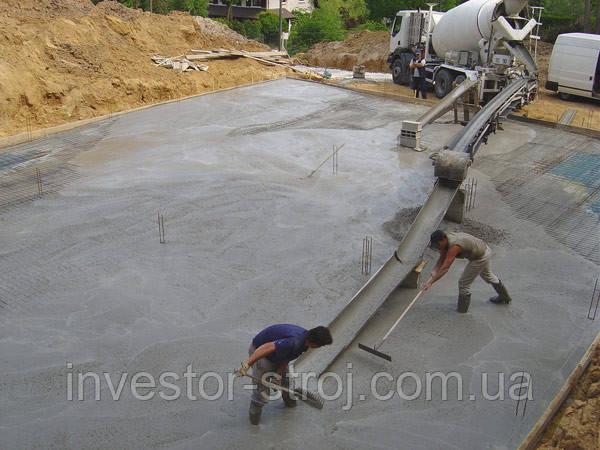 Тощий бетон Харьков