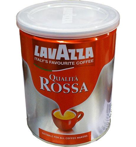 Молотый кофе Lavazza Qualita Rossa железная банка 250 гр
