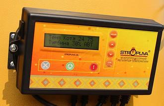 Котел твердотопливный Stropuva S20 U-P Универсальный c программатором (дрова, уголь), фото 2