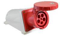 Розетка (гнездо) стационарная ГC 125А/5 3Р+N+РЕ (145) АСКО, 3008