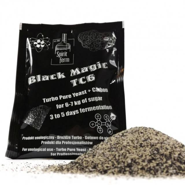 Spiritferm Дрожжи турбо TC6 Black Magic с активированым углём