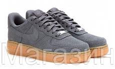 Мужские кроссовки Nike Air Force 1, найк аир форс серые, фото 2